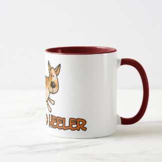 i love my red heeler mug
