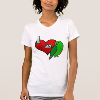 I Love my Red Sided Eclectus T-Shirt