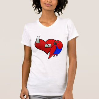 I Love my Red Sided Eclectus TShirt