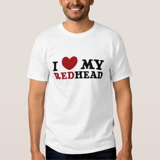 a redhead loves me merchandise