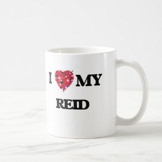I Love MY Reid Classic White Coffee Mug