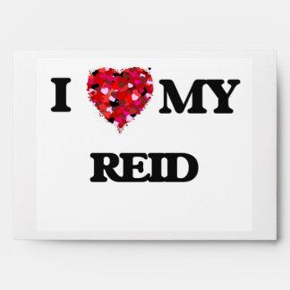 I Love MY Reid Envelopes