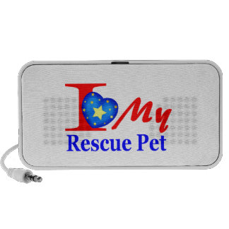 I Love My Rescue Pet Heroes4Rescue Speaker