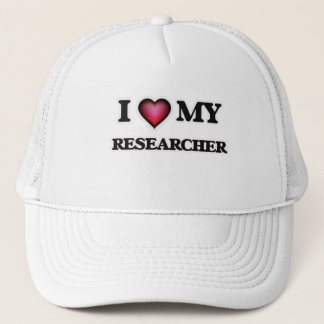 I love my Researcher Trucker Hat