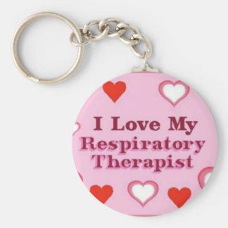 I Love My Respiratory Therapist Key Chains