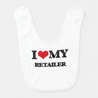 I love my Retailer Baby Bib