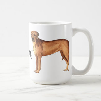 I Love my Rhodesian Ridgeback Coffee Mug