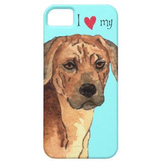 I Love my Rhodesian Ridgeback iPhone SE/5/5s Case