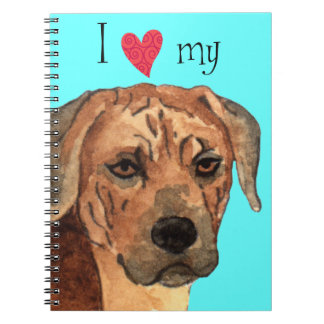 I Love my Rhodesian Ridgeback Notebook
