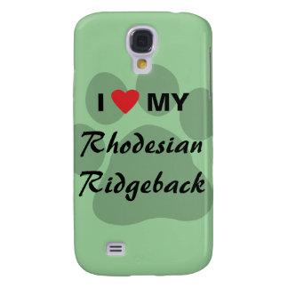 I Love My Rhodesian Ridgeback Samsung Galaxy S4 Cover