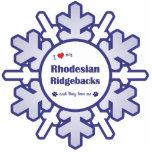I Love My Rhodesian Ridgebacks (Multiple Dogs) Cut Outs