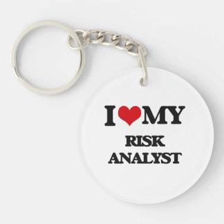 I love my Risk Analyst Acrylic Keychain