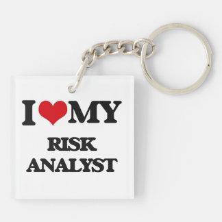 I love my Risk Analyst Keychain
