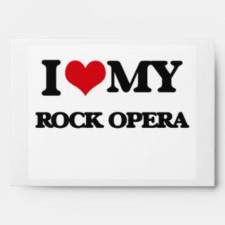 I Love My ROCK OPERA Envelope