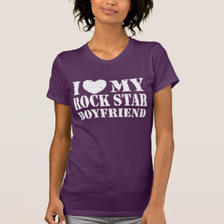 I Love My Rock Star Boyfriend Shirt