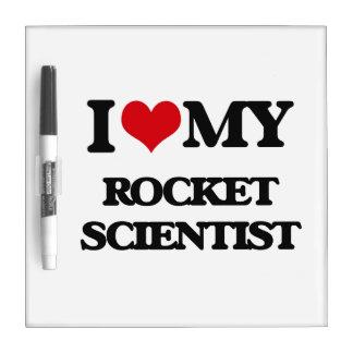 I love my Rocket Scientist Dry Erase Board