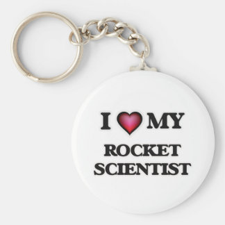 I love my Rocket Scientist Keychain