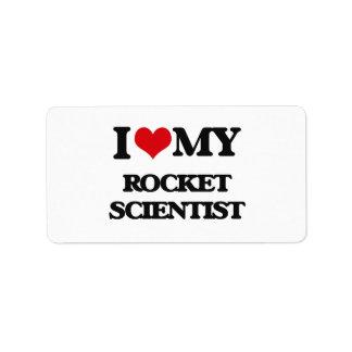 I love my Rocket Scientist Labels