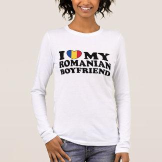 I Love My Romanian Boyfriend Long Sleeve T-Shirt