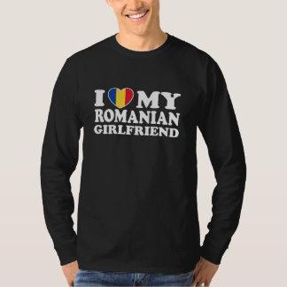 I Love My Romanian girlfriend T-Shirt
