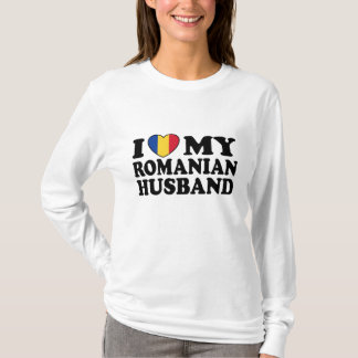I Love My Romanian Husband T-Shirt