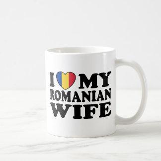 I Love My Romanian Wife Coffee Mug