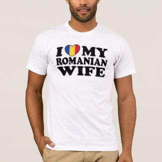 I Love My Romanian Wife T-Shirt