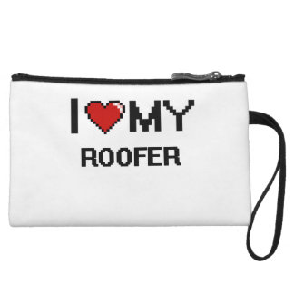I love my Roofer Wristlet Clutches
