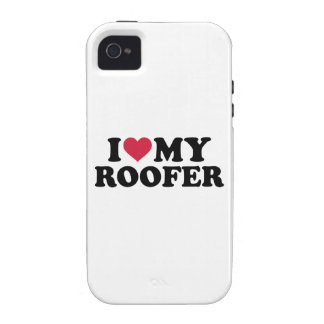 I love my roofer iPhone 4 covers