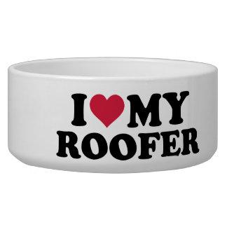 I love my roofer dog bowls