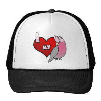 I Love my Rose Breasted Cockatoo Hat