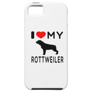 I Love My Rottweiler iPhone 5 Covers