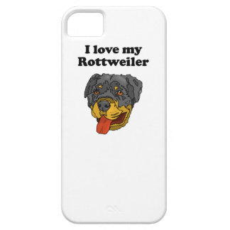 I Love My Rottweiler iPhone 5 Case