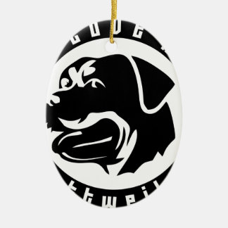 I LOVE MY ROTTWEILER Pet Dog Breed Christmas Ornaments