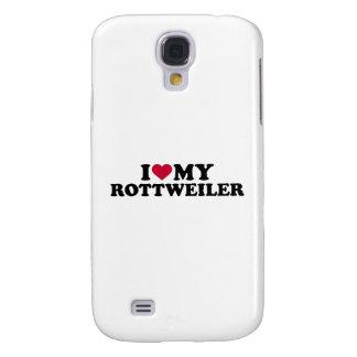 I love my Rottweiler Samsung Galaxy S4 Case
