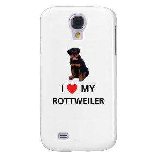 I Love My Rottweiler Samsung S4 Case