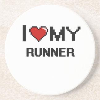 I love my Runner Drink Coaster