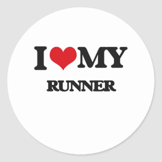 I love my Runner Sticker