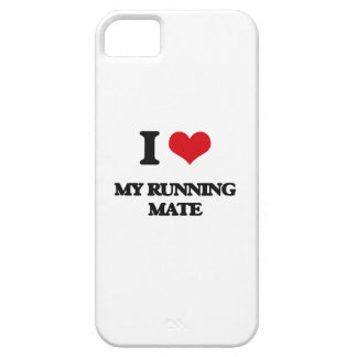 I Love My Running Mate iPhone 5 Cover