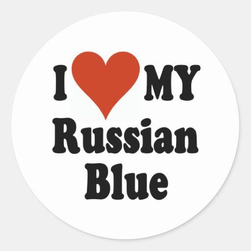 Customizable Love My Russian Blue 6