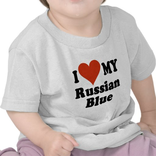 Customizable Love My Russian Blue 51