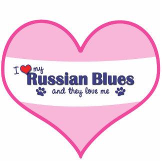 I Love My Russian Blues (Multiple Cats) Statuette