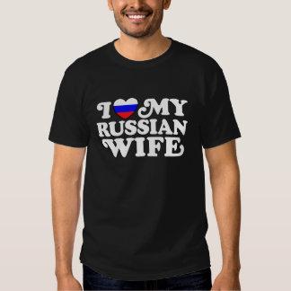 I Love My Russian Wife T-Shirt