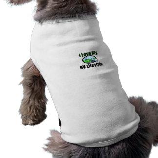 I Love My RV Lifestyle Dog Sweater Tee