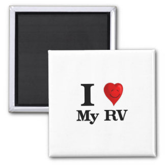 I Love My RV Magnet