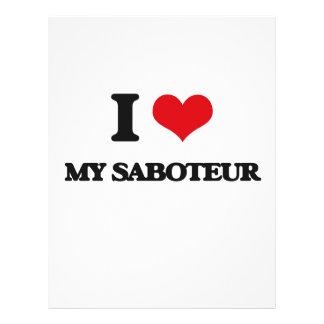 I Love My Saboteur Full Color Flyer