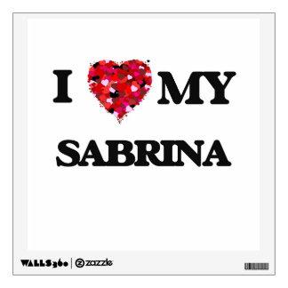 I love my Sabrina Room Stickers