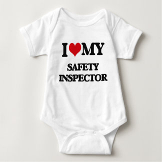 I love my Safety Inspector Baby Bodysuit