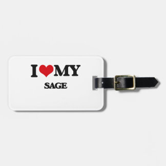 I love my Sage Tags For Luggage