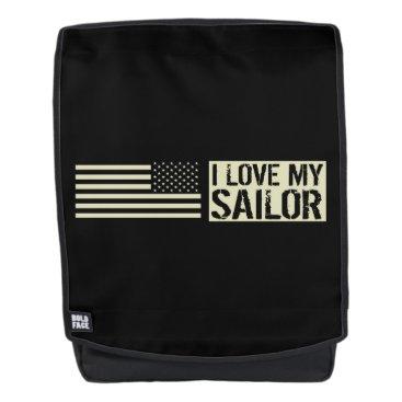 I Love My Sailor Backpack